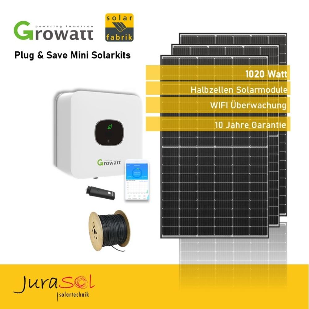 1020 Watt Plug & Save Paket
