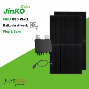 690 Watt Plug & Save Paket Jinko, APSystems